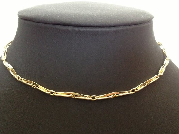 collier giletiere OR 18k  18,48 grs occasion